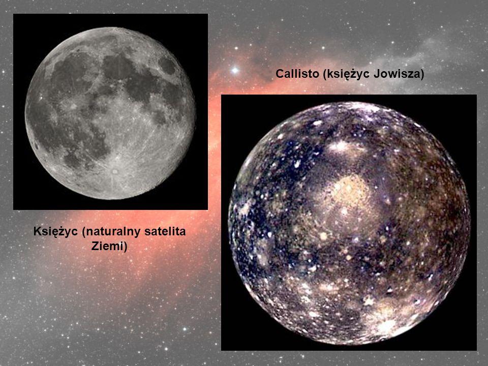 Callisto (księżyc Jowisza) Księżyc (naturalny satelita Ziemi)