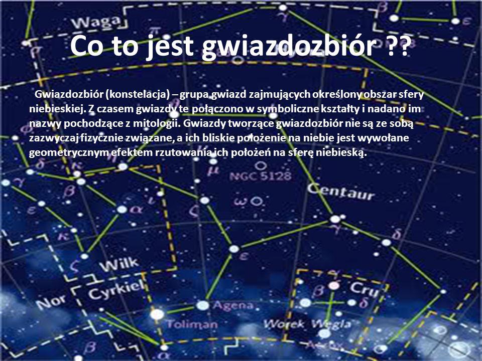 Co to jest gwiazdozbiór