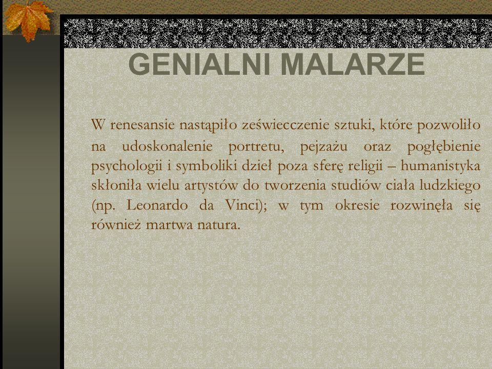 GENIALNI MALARZE