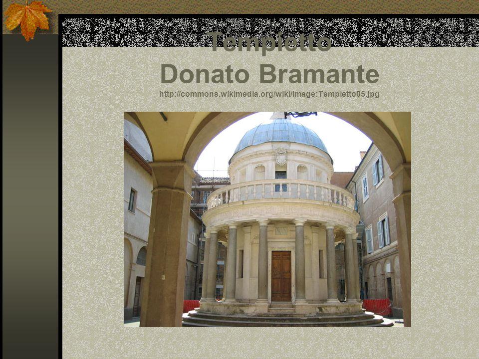 Tempietto Donato Bramante http://commons. wikimedia