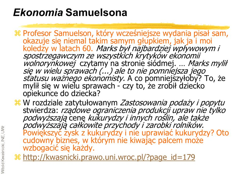 Ekonomia Samuelsona