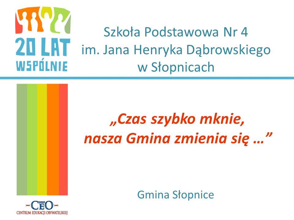 Szkoła Podstawowa Nr 4 im. Jana Henryka Dąbrowskiego w Słopnicach