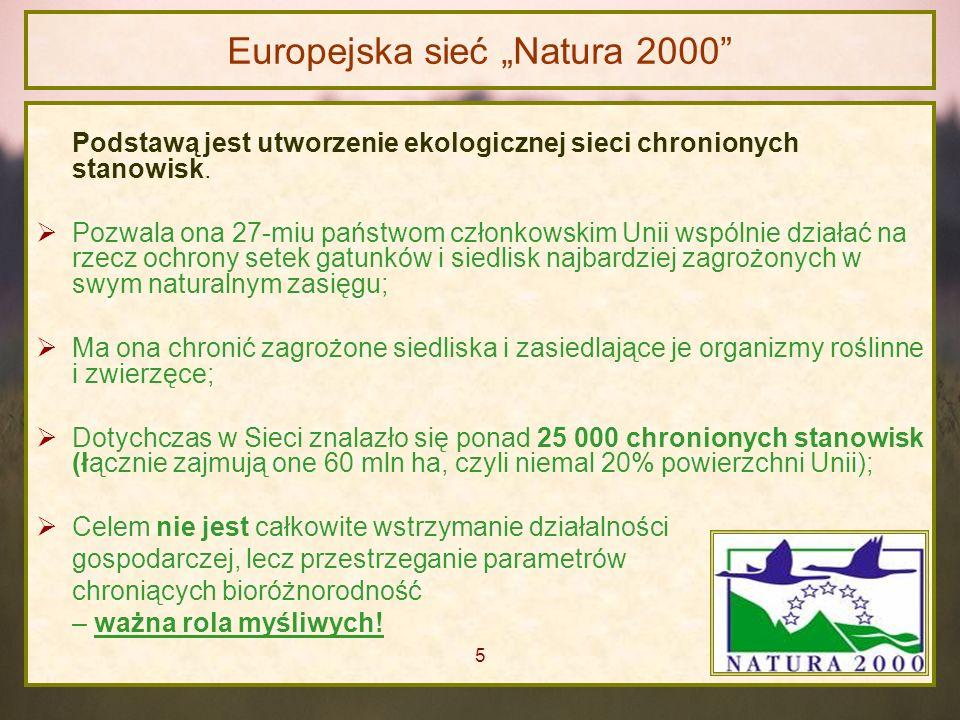 """Europejska sieć """"Natura 2000"""