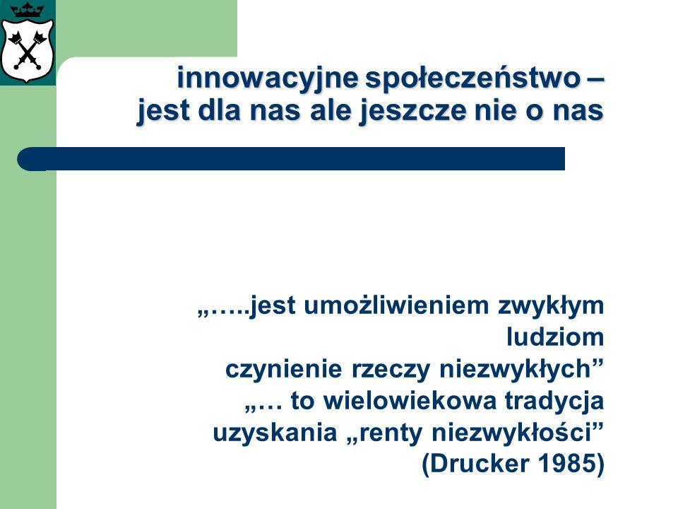 innowacyjne społeczeństwo – jest dla nas ale jeszcze nie o nas