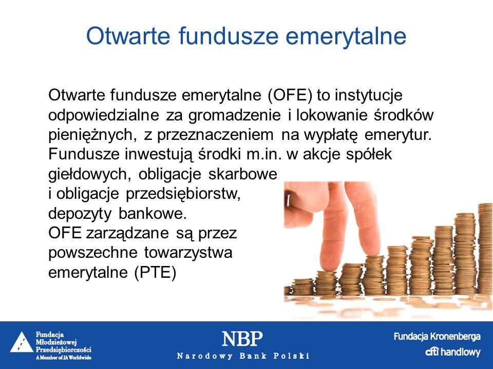 Otwarte fundusze emerytalne