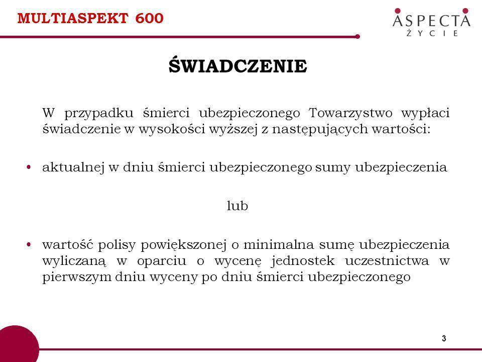 ŚWIADCZENIE MULTIASPEKT 600