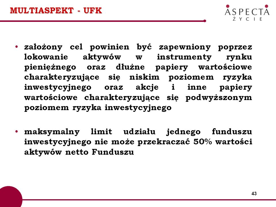 MULTIASPEKT - UFK