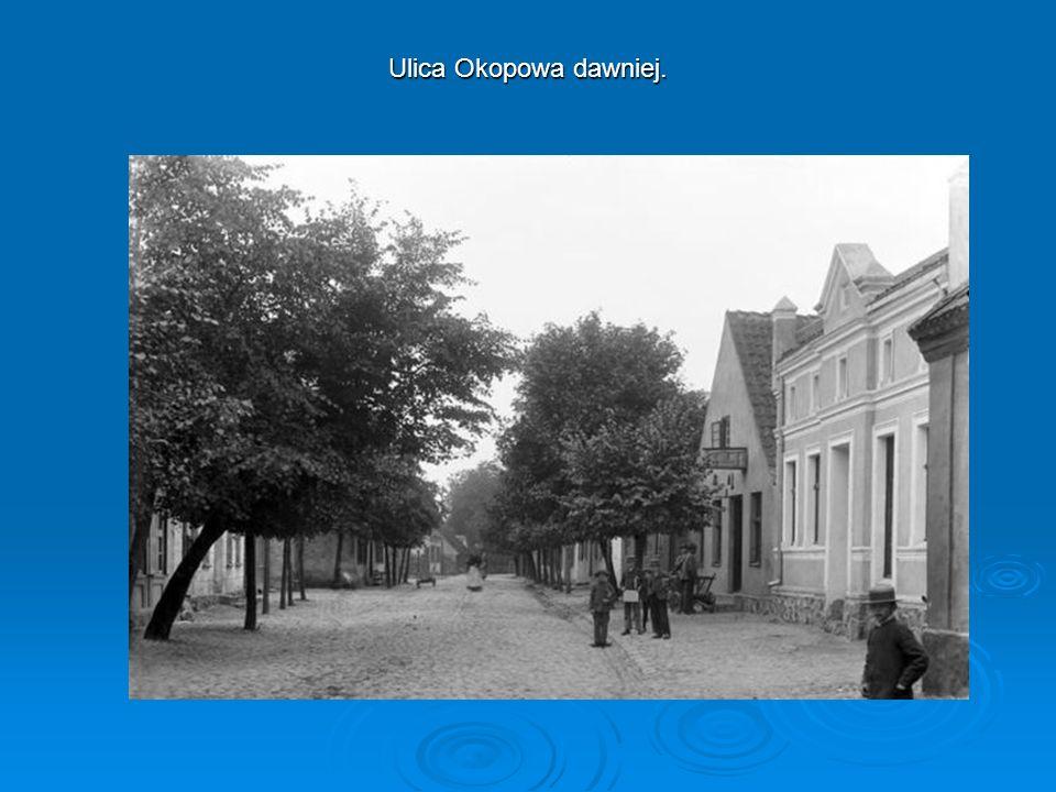 Ulica Okopowa dawniej.