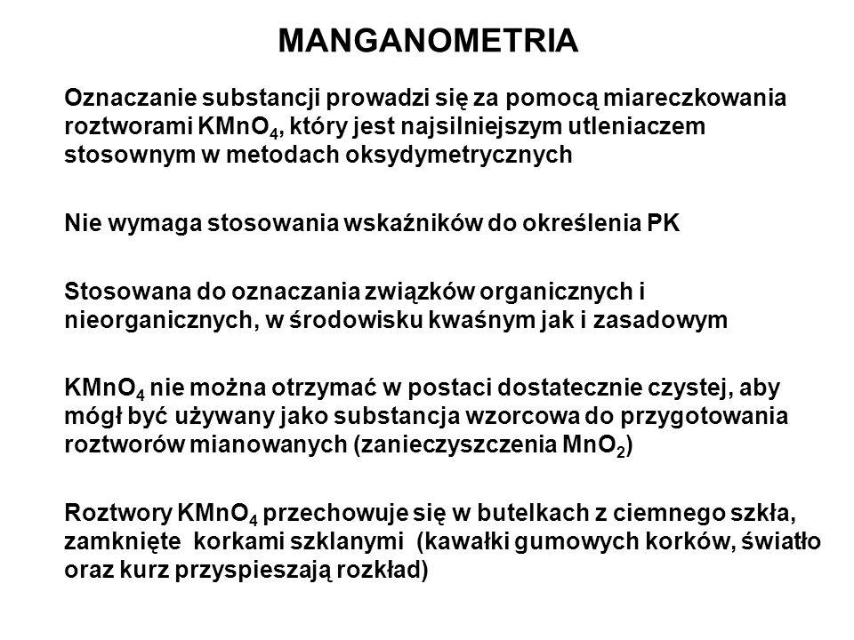 MANGANOMETRIA