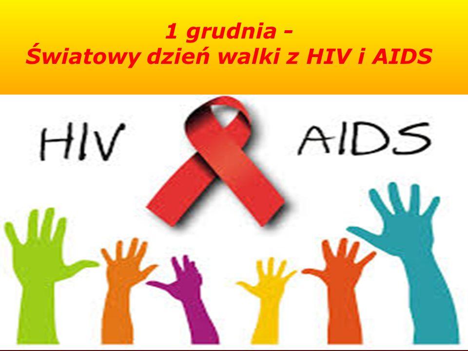 Światowy dzień walki z HIV i AIDS