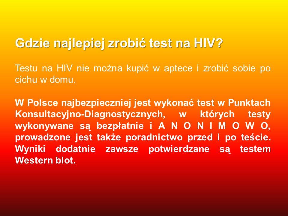 Gdzie najlepiej zrobić test na HIV