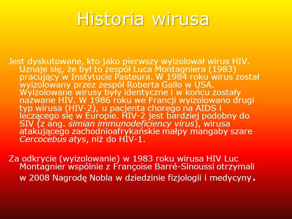 Historia wirusa