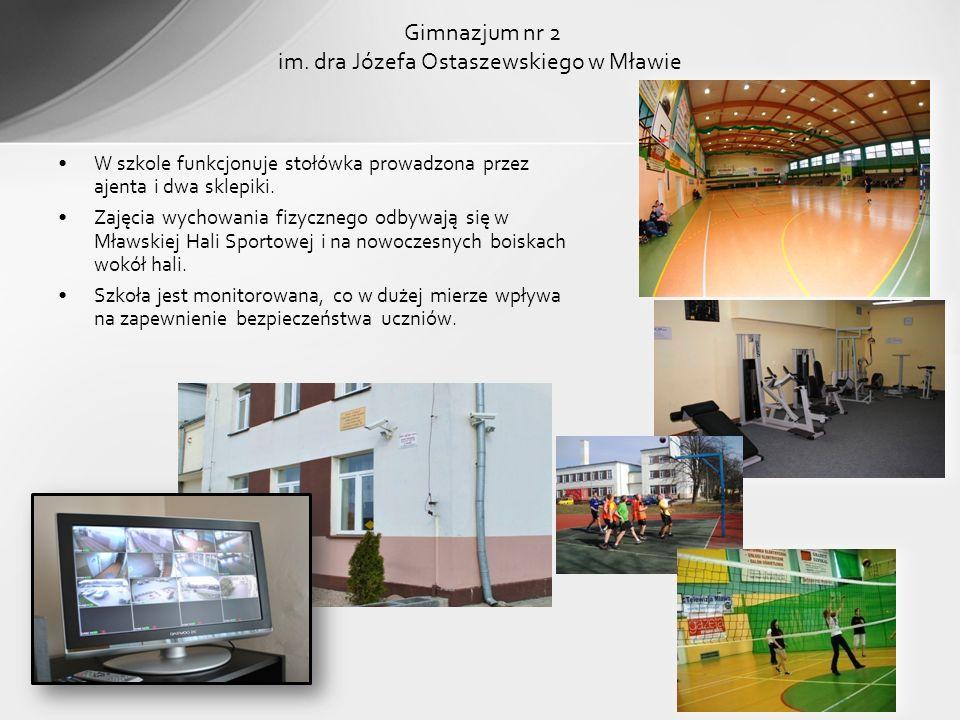 Gimnazjum nr 2 im. dra Józefa Ostaszewskiego w Mławie