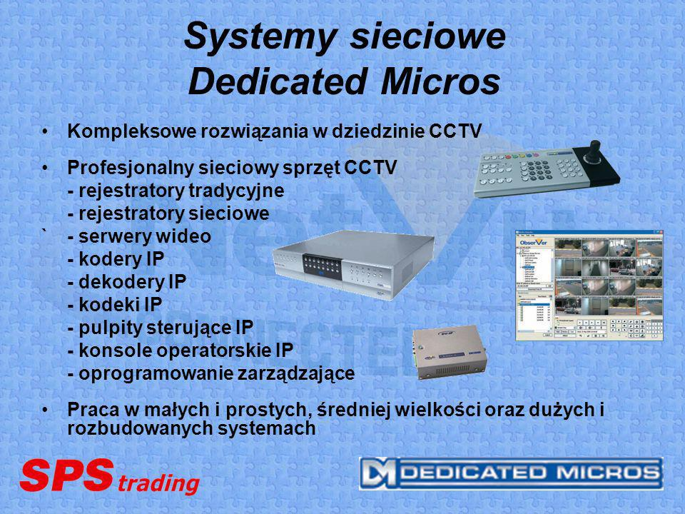 Systemy sieciowe Dedicated Micros