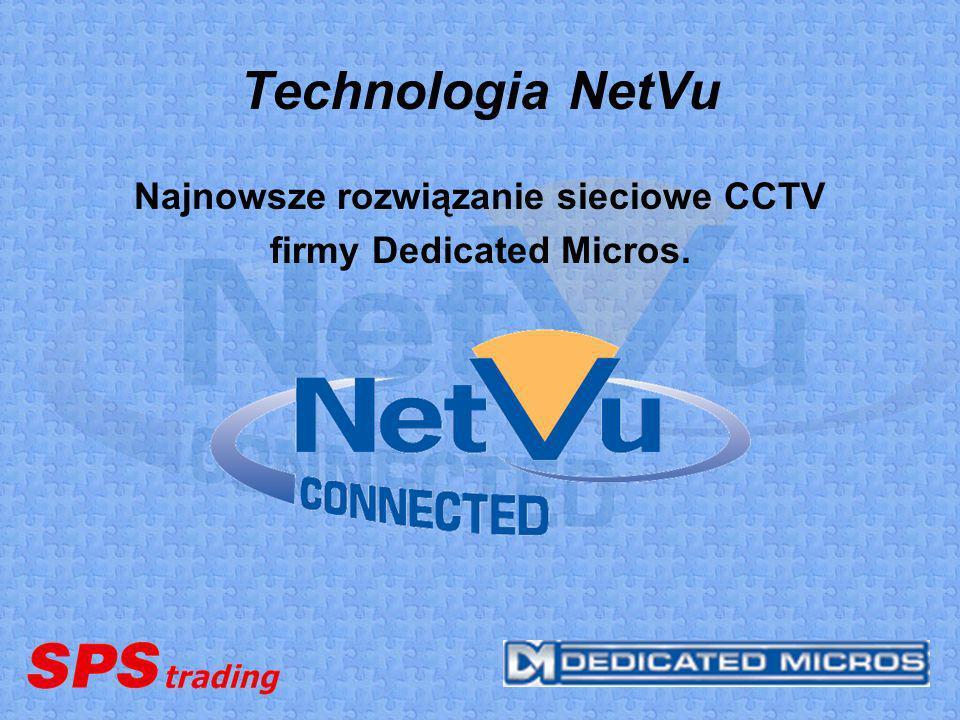 Najnowsze rozwiązanie sieciowe CCTV firmy Dedicated Micros.