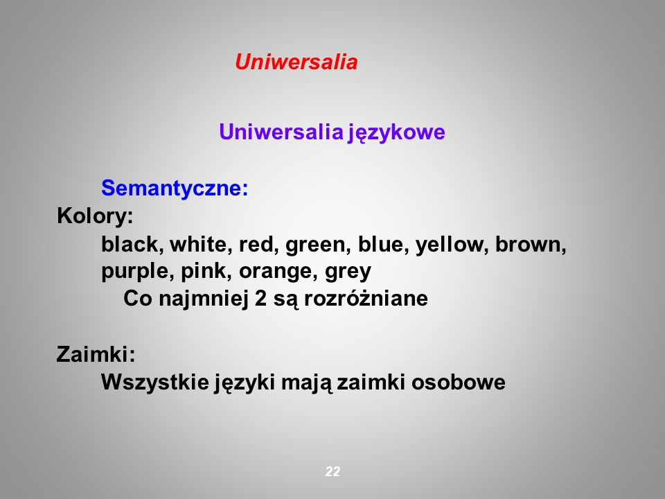 Uniwersalia