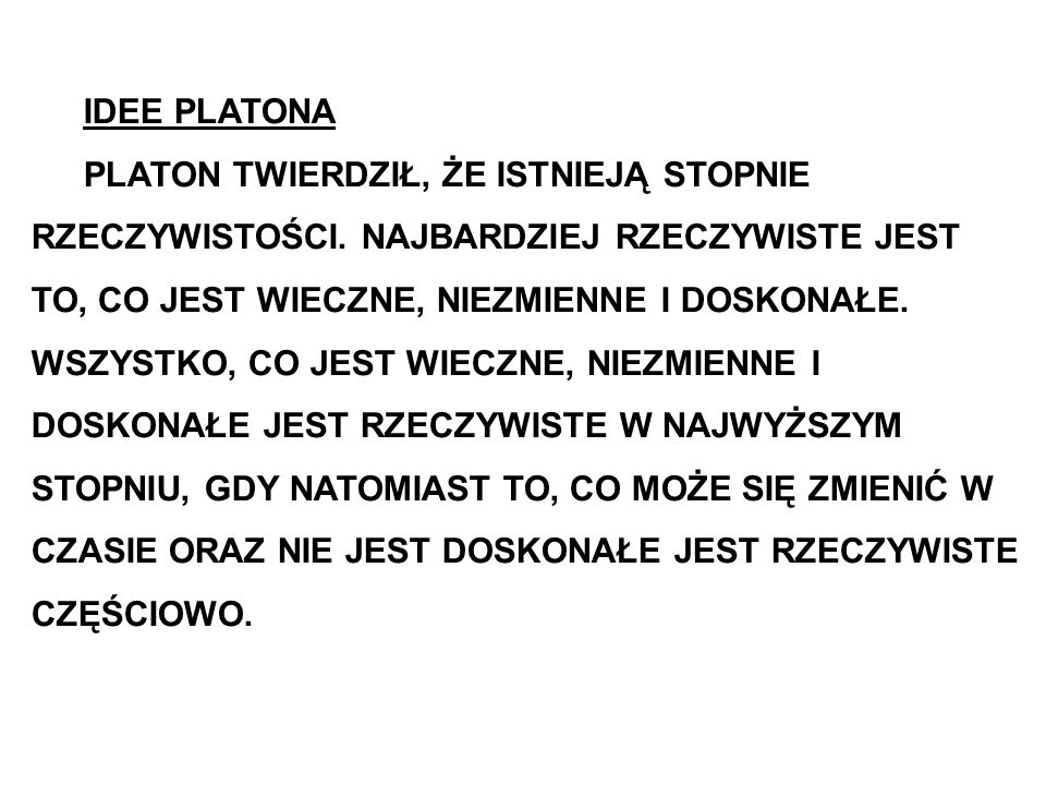 IDEE PLATONA