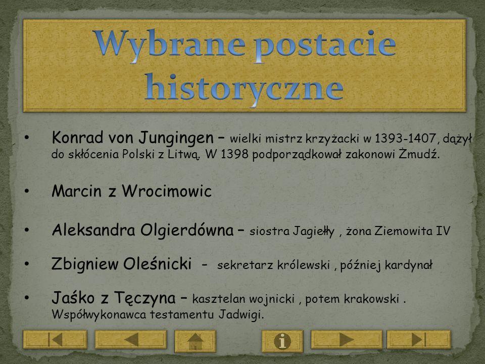 Wybrane postacie historyczne