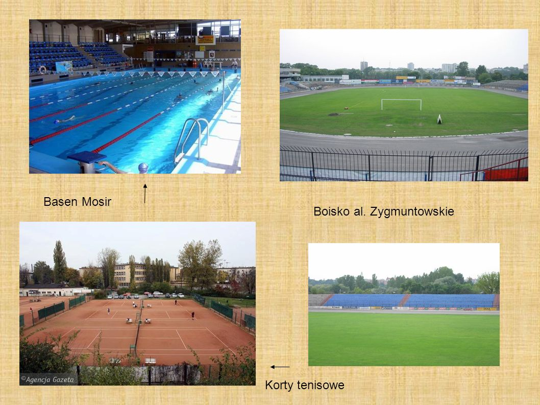 Basen Mosir Boisko al. Zygmuntowskie Korty tenisowe