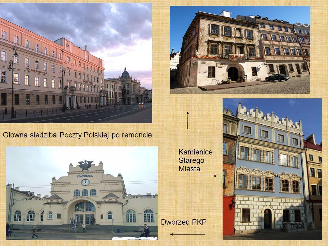 Głowna siedziba Poczty Polskiej po remoncie