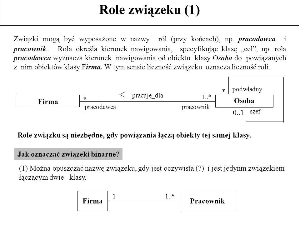 Role związeku (1)