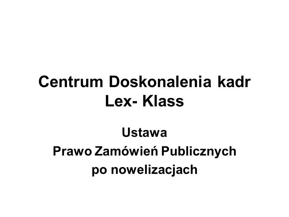 Centrum Doskonalenia kadr Lex- Klass