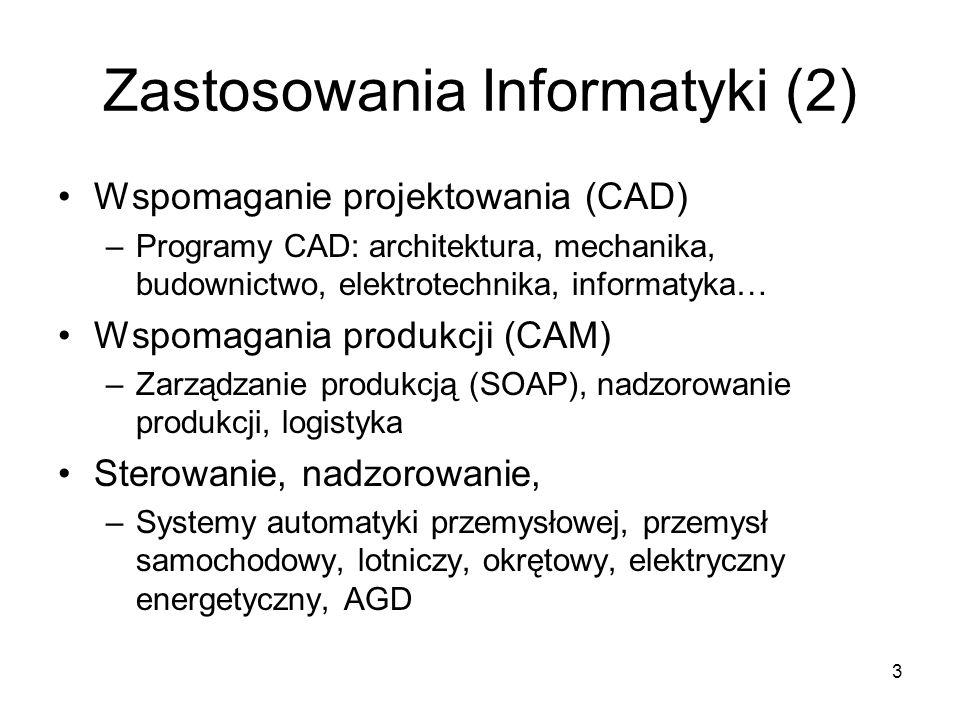 Zastosowania Informatyki (2)