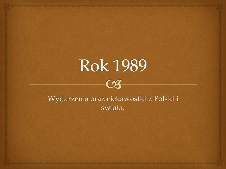 Wydarzenia oraz ciekawostki z Polski i świata.