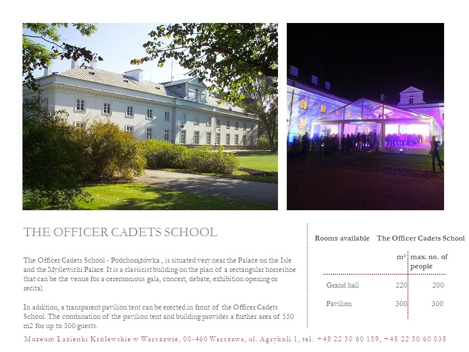 THE OFFICER CADETS SCHOOL