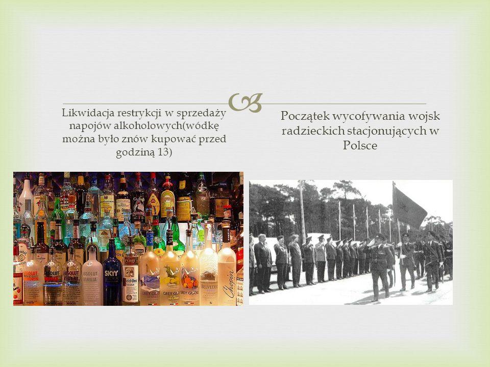 Początek wycofywania wojsk radzieckich stacjonujących w Polsce