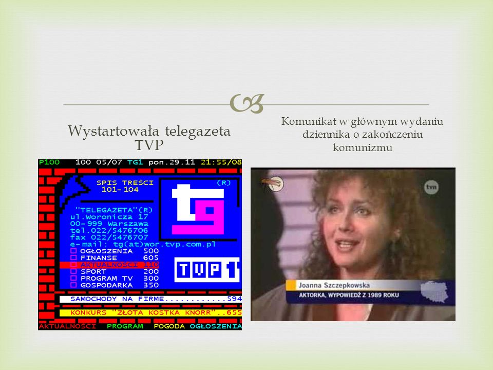Wystartowała telegazeta TVP