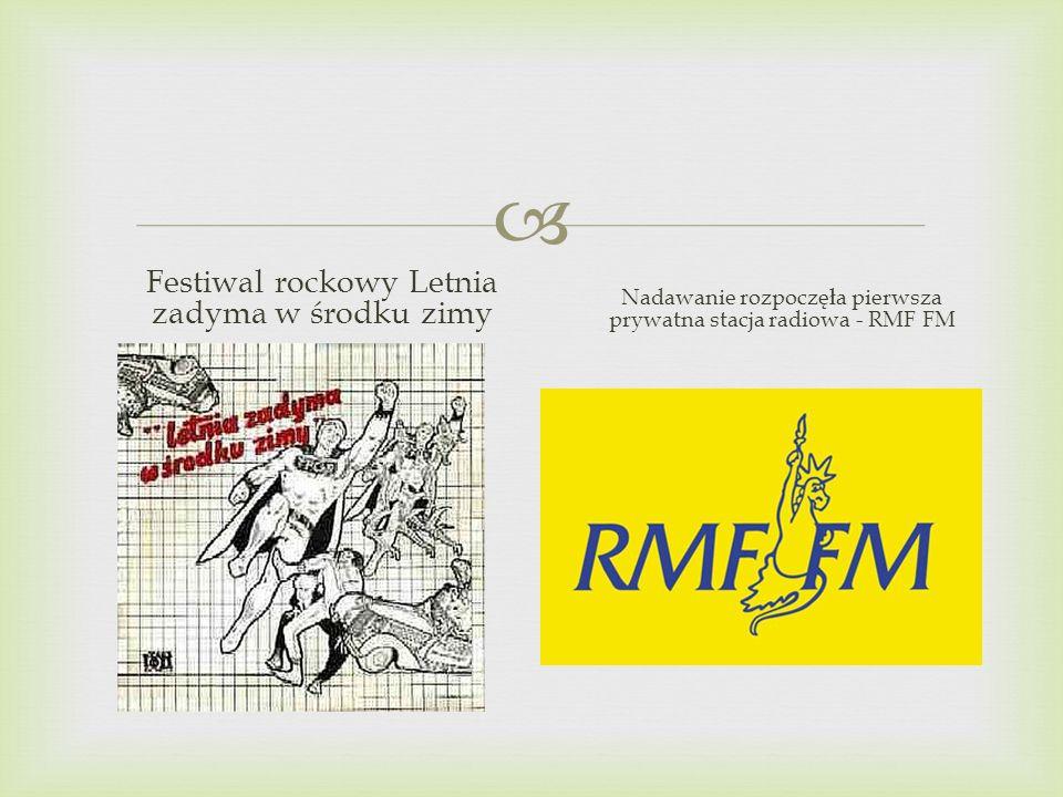 Festiwal rockowy Letnia zadyma w środku zimy