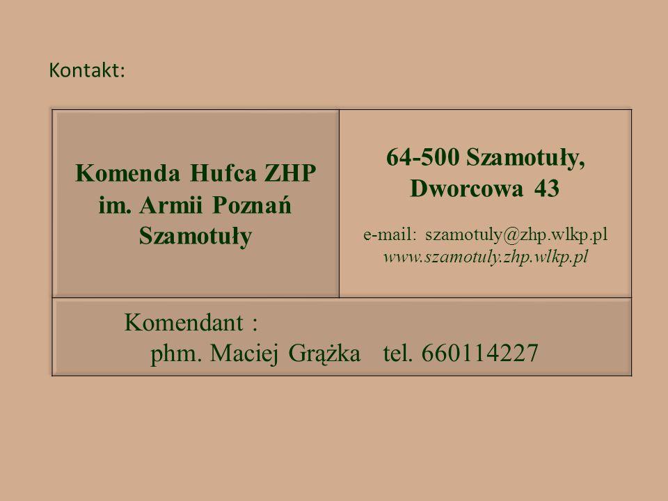 im. Armii Poznań Szamotuły