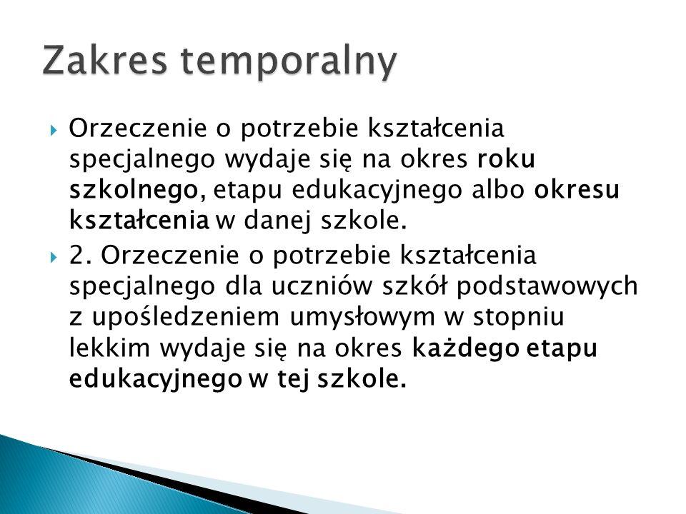 Zakres temporalny