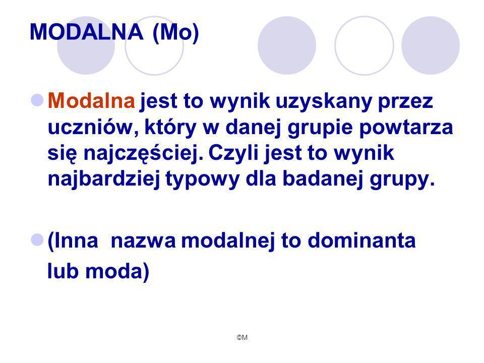 MODALNA (Mo)