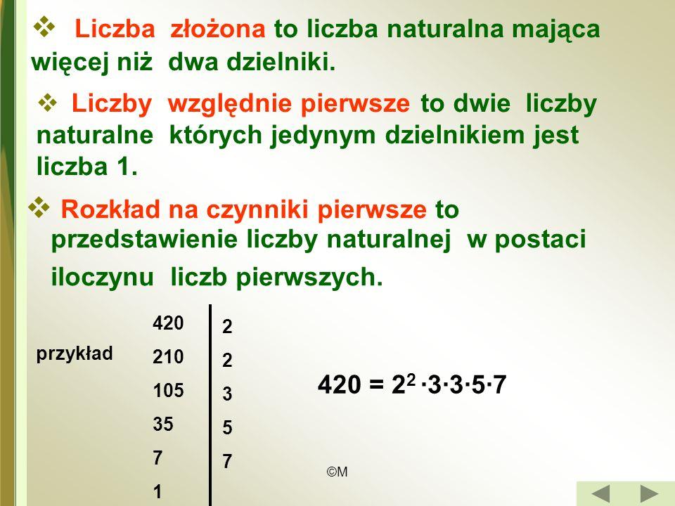 Liczba złożona to liczba naturalna mająca więcej niż dwa dzielniki.