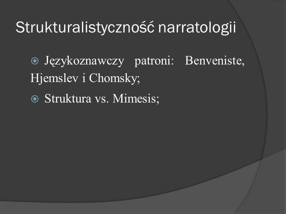 Strukturalistyczność narratologii