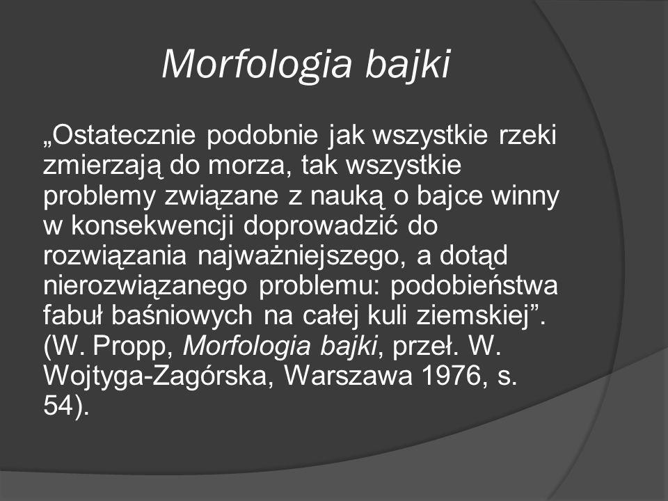 Morfologia bajki
