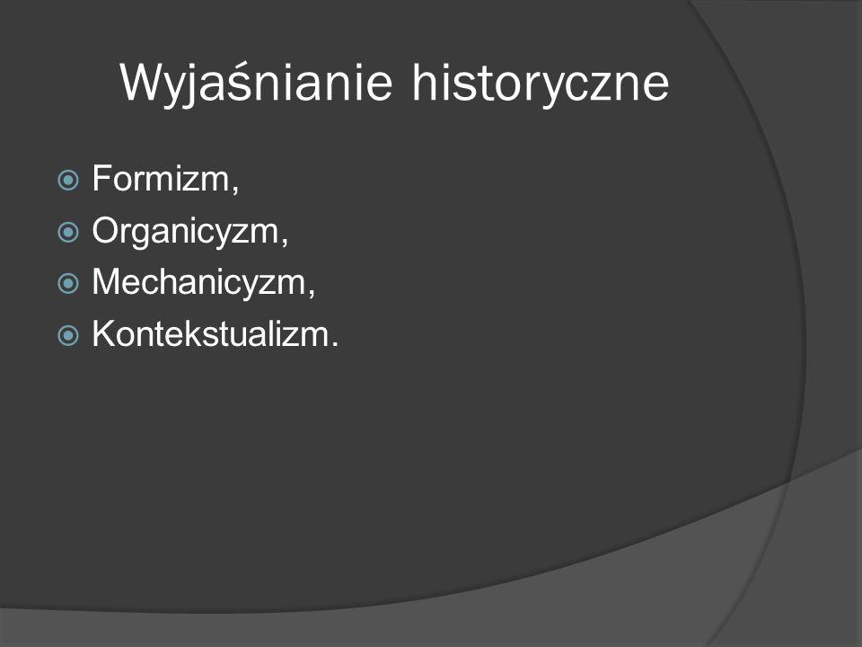 Wyjaśnianie historyczne
