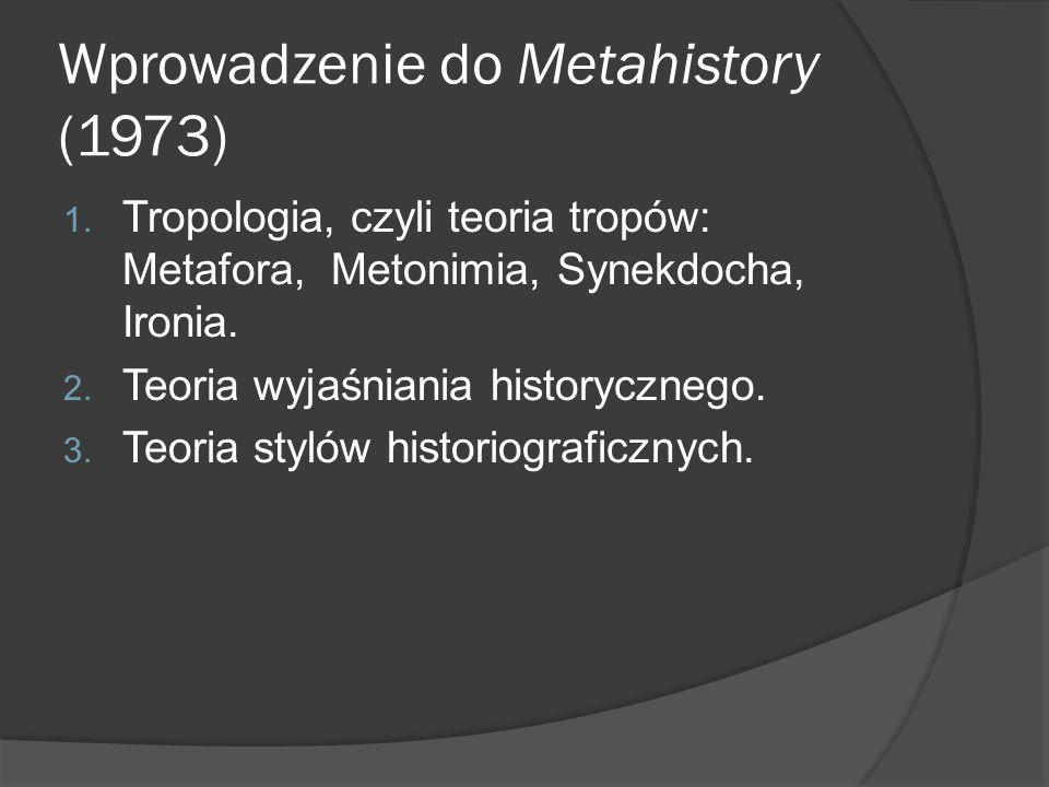 Wprowadzenie do Metahistory (1973)