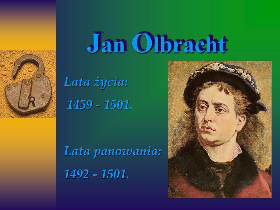 Lata życia: 1459 - 1501. Lata panowania: 1492 - 1501.