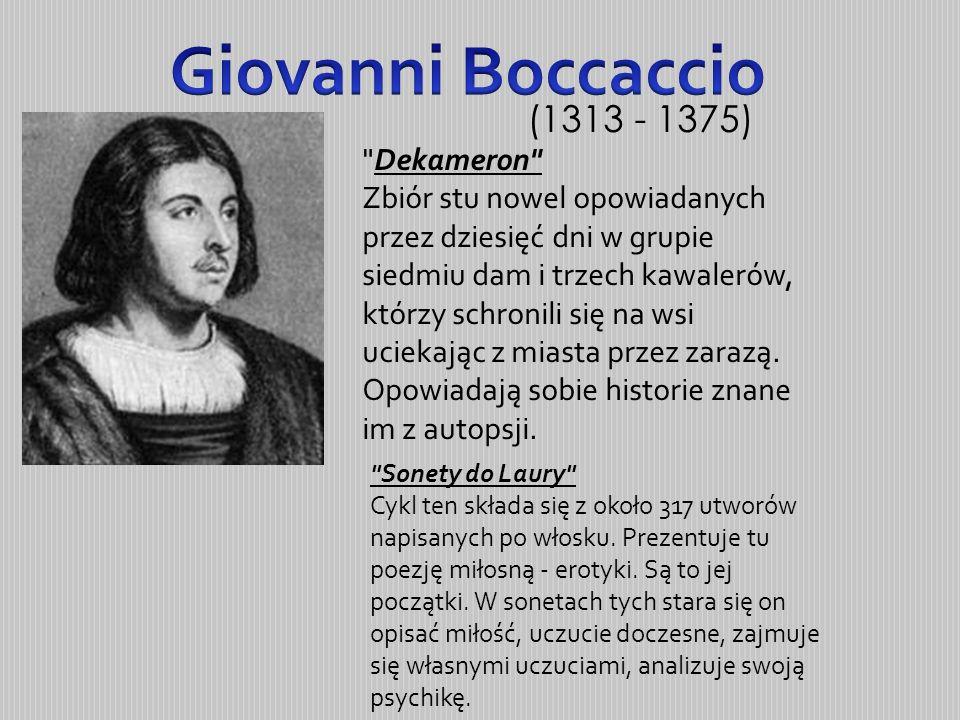 Giovanni Boccaccio (1313 - 1375)