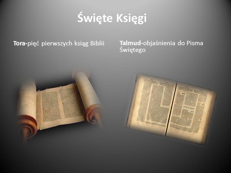 Święte Księgi Tora-pięć pierwszych ksiąg Biblii