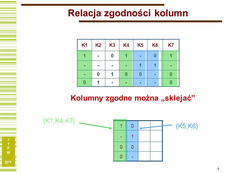 Relacja zgodności kolumn