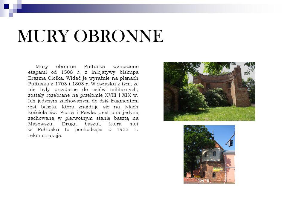 MURY OBRONNE
