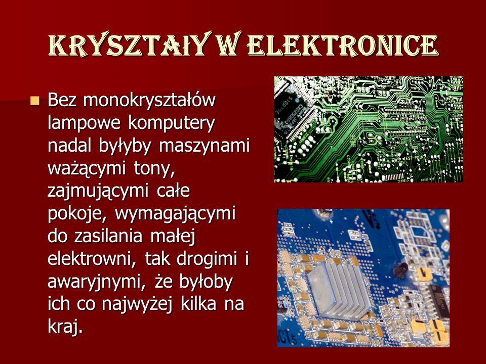 Kryształy w elektronice