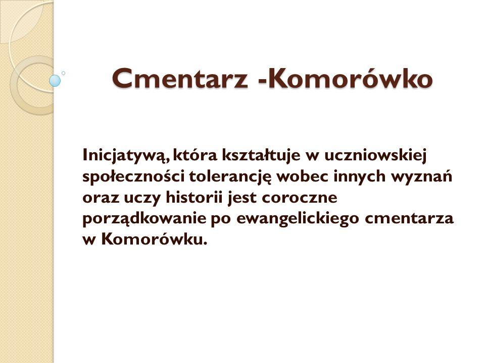 Cmentarz -Komorówko
