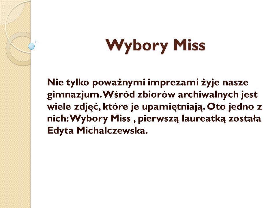 Wybory Miss