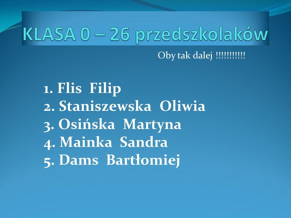 KLASA 0 – 26 przedszkolaków