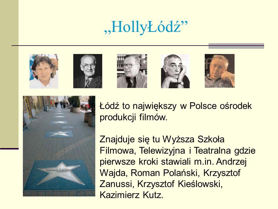 """""""HollyŁódź Łódź to największy w Polsce ośrodek produkcji filmów."""